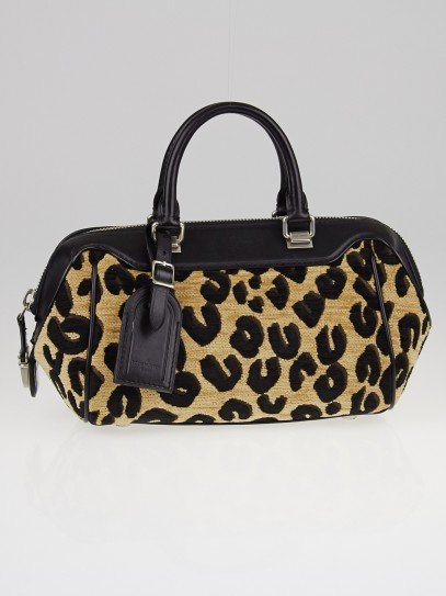 Louis Vuitton Limited Edition Leopard Baby Bag
