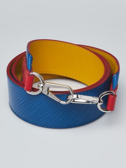 Louis Vuitton Blue Epi Leather Bandouliere Shoulder Strap