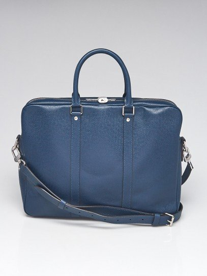 Louis Vuitton Ocean Taiga Leather Porte-Documents Voyage PM Bag