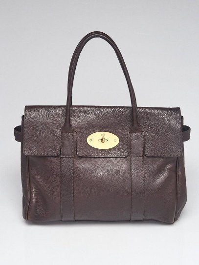 Mulberry Brown Leather Bayswater Bag