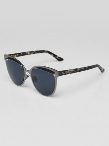 Christian Dior Limited Edition Grey Tortoise Shell Acetate/Metal Inspired Sunglasses