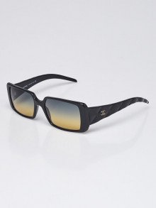 Chanel Black Frame Quilted CC Logo Sunglasses- 5045