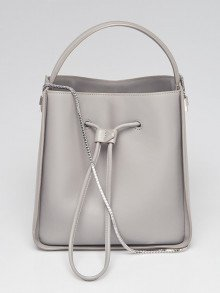 3.1 Phillip Lim Cement Leather Soleil Small Bucket Bag