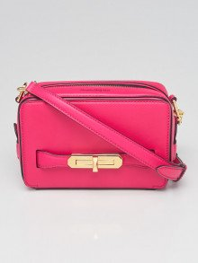 Alexander McQueen Orchid Pink Leather The Myth Crossbody Bag